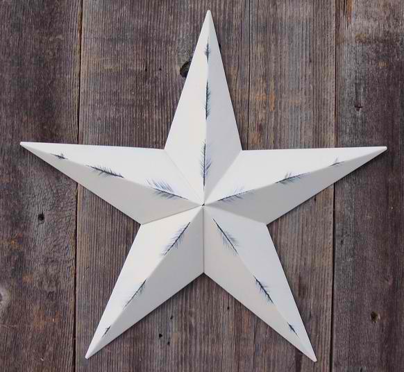 "72"" Amish Made Rustic Barn Star"