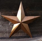 120″ Amish Made Rustic Barn Star