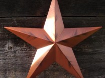 96″ Solid Amish Made Barn Star