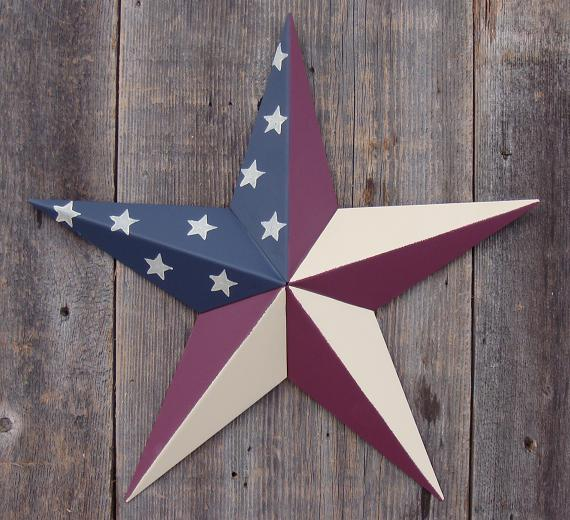 10″ Amish Made Barn Star