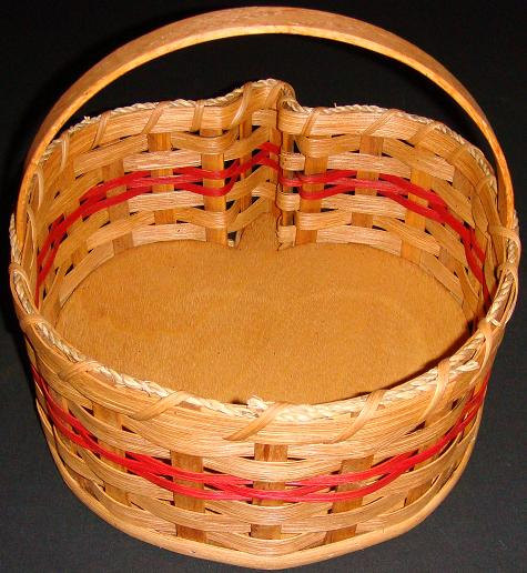 Basket – Apple Shaped with Handle