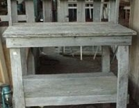Amish Functional Potting Bench/Table (Pick-Up-Only)