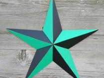 53 Inch Nautical Barn Star
