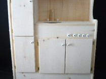 Child Play – Unfinished Pine Child's Play Kitchen – PICK UP ONLY