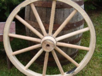 Cannon Wheel – 30 Inch x 2 Inch Heavy Duty Cannon Wheel