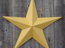 6″ Solid Amish Made Barn Star