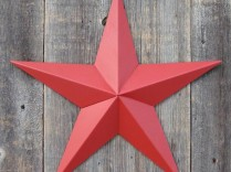 7″ Solid Amish Made Barn Star