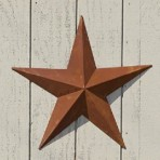 5″ Rusty Barn Star
