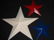 7″ Pressed Painted Barn Star